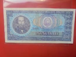 ROUMANIE 100 LEI 1966 Peu Circuler(B.25/2) - Romania