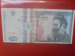ROUMANIE 500 LEI 1992 N°101a Peu Circuler(B.25/2) - Romania