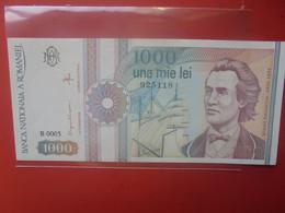 ROUMANIE 1000 LEI 1991 Peu Circuler(B.25/2) - Romania