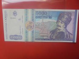 ROUMANIE 5000 LEI 1992 Circuler(B.25/2) - Romania