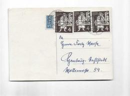 Karte Aus Hamburg 1954 - Briefe U. Dokumente