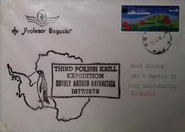 H 18 Lettre Antartique Pologne - Zonder Classificatie
