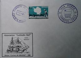 H 18 Lettre Antartique Chili - Zonder Classificatie