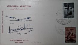 H 18 Lettre Antartique Argentine - Zonder Classificatie