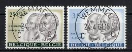 BELGIE: COB 1179/1180  Mooi Gestempeld. - Gebraucht