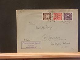95/883   LETTRE ALLEMAGNE 1948 - Gemeinschaftsausgaben
