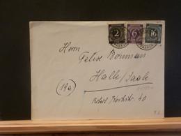 95/884  LETTRE ALLEMAGNE 1946 - Gemeinschaftsausgaben