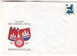 Allemagne - République Fédérale - Lettre De 1977 - Entier Postal - Armoiries - - Briefe U. Dokumente