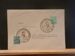 95/889   LETTRE ALLEMAGNE 1947 OBL. - Gemeinschaftsausgaben