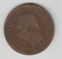 10 CENTIMES 1864 BB - D. 10 Centimes