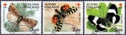 Finland 1992 Vlinders III GB-USED - Gebraucht