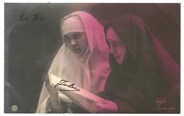 CPA- Carte Postale France- La Foi Avec Deux Jeunes Sœurs  -VM39691 - Altri