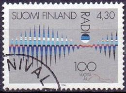 Finland 1996 100 Jaar Radio GB-USED - Gebraucht