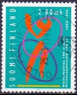 FINLAND 1996 Vrouwengymnastiek GB-USED - Gebraucht