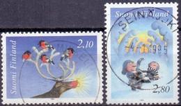 Finland 1994 Kerstzegels GB-USED - Gebraucht