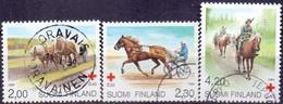 Finland 1994 Rode Kruis Paarden GB-USED - Gebraucht