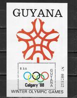 GUYANA Nº HB 18 - Invierno 1988: Calgary