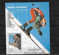 GUYANA Nº HB 19 - Invierno 1988: Calgary