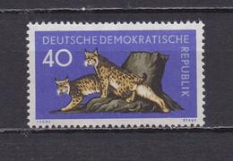 ALLEMAGNE DEMOCRATIQUE 1959 TIMBRE N°457 NEUF** LYNX - Ungebraucht