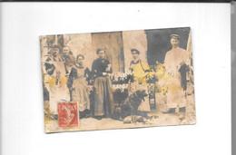 72 - Carte Photo MAYET   Marchand De Volailles, - Mayet