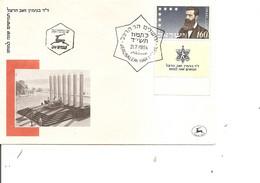 Israel - Sionisme - Herzl ( FDC De 1954 à Voir) - FDC