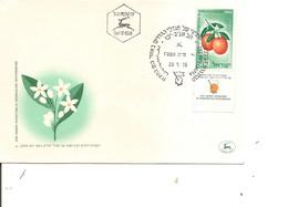 Israel - Agriculture ( FDC De 1956 à Voir) - FDC