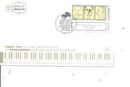 Israel - Musique - Rubinstein ( FDC De 1986 à Voir) - FDC