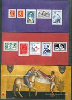 France 2014 - 95 Deux Blocs Souvenir 150 Ans De La Croix Rouge Francaise Avec 10 Timbres €0,61 + 0,30 - Neuf - Souvenir Blocks