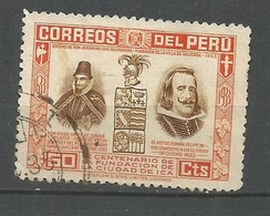 PERU YVERT NUM. 318 USADO - Peru