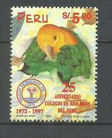 PERU YVERT NUM. 1097 SERIE COMPLETA USADA - Peru