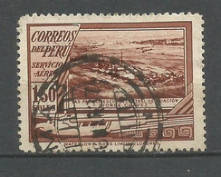 PERU CORREO AEREO YVERT NUM. 25 USADO - Peru