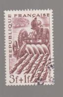 "FRANCE / 1949 / Y&T N° 823 : ""Métiers"" (Agriculteur) - Choisi - Cachet Rond - Gebraucht"