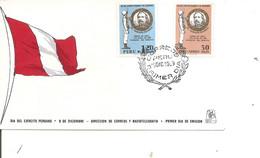 Pérou ( FDC De 1969 à Voir) - Peru