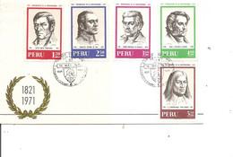 Pérou ( FDC De 1971 à Voir) - Peru