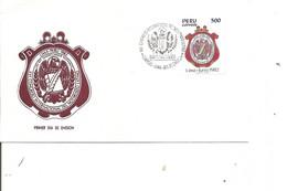 Pérou -  ( FDC De 1982 à Voir) - Peru