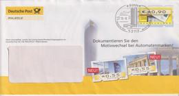 Automatemmarke, Bonn, Sonderstempel 2008 - Privatumschläge - Gebraucht