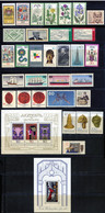Germany 1977. Complete Commemorative Year Set. MINT (MNH)** 31 Stamps + 2 Sheets - Ungebraucht