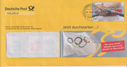 Olympische Spiele 2008, Weiden, 2008 - Privatumschläge - Gebraucht