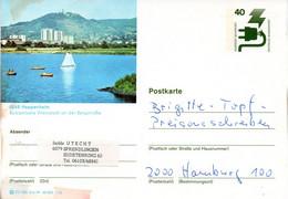 "(BP3)BRD Bildpostk.Wz40(Pf) Olivgrün""Unfallverhütung"" P120 515586 D4/49 ""6148 Heppenheim"" (Stempel Fehlt) - Bildpostkarten - Gebraucht"