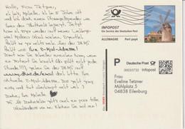 Infopost DKMS Tüningen - Privatpostkarten - Gebraucht