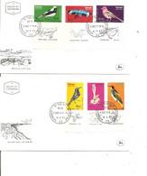 Israel - Oiseaux ( 4 FDC De 1963 à Voir) - FDC
