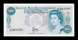 Isle Of Man - Isla De Man 50 New Pence Elizabeth II 1979 Pick 33 SC UNC - 50 New-pence