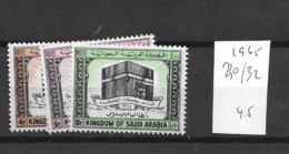 1965 MNH Saudi Arabia Michel 130-32 Postfris** - Arabia Saudita