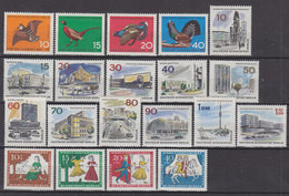 BERLIN Jahrgang 1965, Postfrisch **, 250-269, Komplett - Ungebraucht