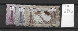 1961 MNH Saudi Arabia Michel 118-20 Postfris** - Arabia Saudita