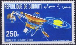 Djibouti Space 1980 Voyager Saturn Mission. - Djibouti (1977-...)