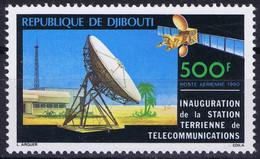 Djibouti Space 1980 Intelsat 5 And Earth Station. - Djibouti (1977-...)