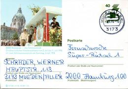 """(BP3)BRD Bildpostk.Wz40(Pf) Olivgrün""""Unfallverhütung"""" P120 515586 D4/56 """"3000 Hannover"""" TSt 3.9.76 MÜDEN/ALLER - Bildpostkarten - Gebraucht"""