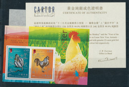"""Hongkong: 2001-2005, """"Chinesische Tierkreiszeichen"""" Partie Mit Block 87 Postfrisch Im Originalbliste - Ohne Zuordnung"""