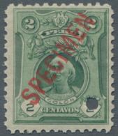 Peru: 1909, 1918; 2c. Columbus Green And 50c. Lilac And Black (Columbus At The Salamanca University) - Peru